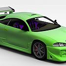 荧光绿ECLIPSE模型