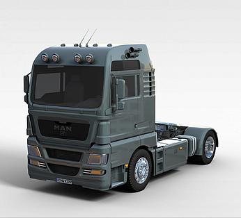 MAN_tgx重卡车