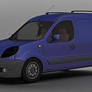 紫色雷诺Kangoo模型