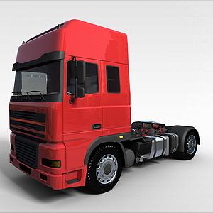 3d達夫DAF重<font class='myIsRed'>卡車</font>模型