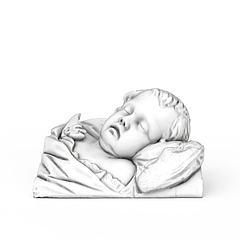 男孩石膏像模型3d模型