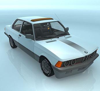 BMWE21汽车