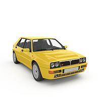 黄色蓝旗亚3D模型3d模型