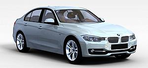 3dBMW3F30汽车模型