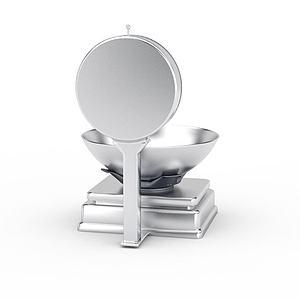 厨房电子秤模型3d模型