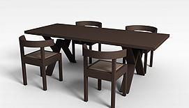 中式复古<font class='myIsRed'>家具</font>3d模型