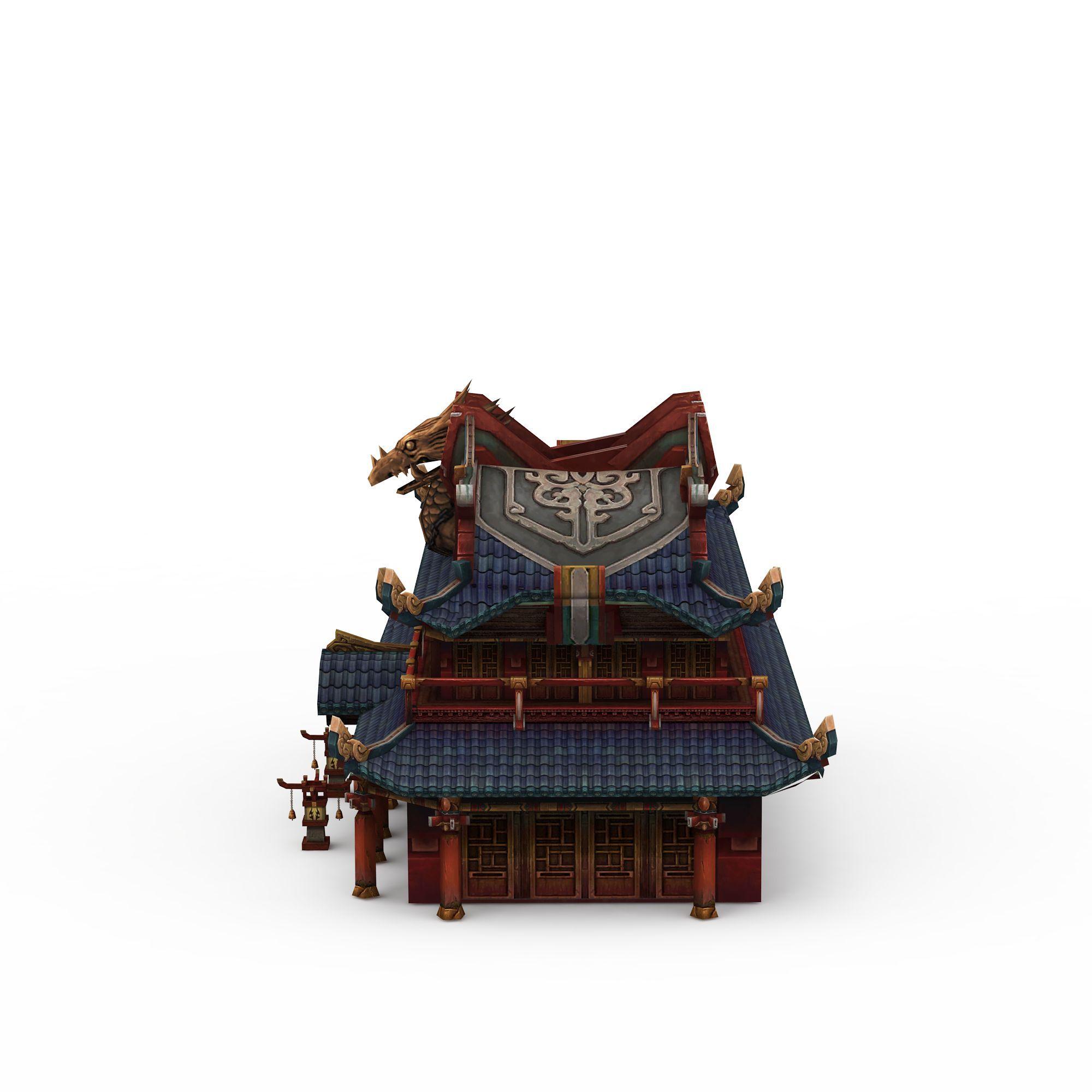 中式复古建筑高清图下载图片