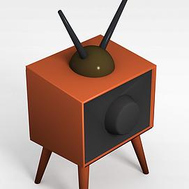 3d卡通<font class='myIsRed'>電視機</font>模型