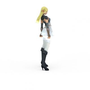 动漫人物3d模型