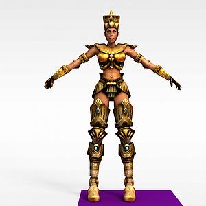 3d超級戰士模型