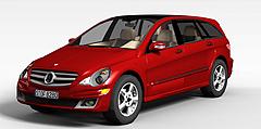 红色奔驰汽车模型3d模型