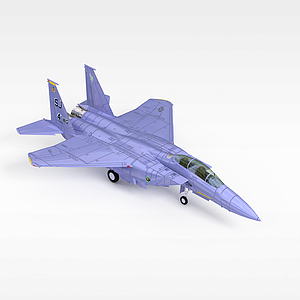 3d现代战斗机模型