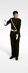 交警造型人物模型3d模型