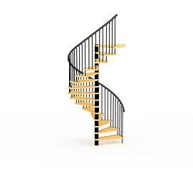 3d古典<font class='myIsRed'>楼梯</font>模型
