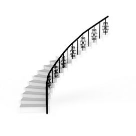 3d简约<font class='myIsRed'>楼梯</font>模型