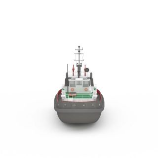 现代民用<font class='myIsRed'>船</font>3d模型