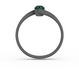 绿色宝石戒指3d模型