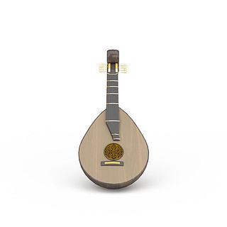 琵琶3d模型