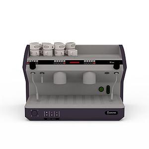3d自动饮料机模型
