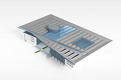 建筑物模型3d模型