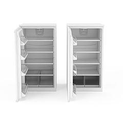 单开门冰箱3D模型3d模型