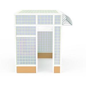 3d创意凉亭模型