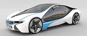 3d宝马概念汽车模型