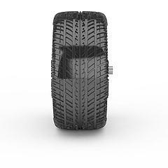 汽车轮胎模型3d模型