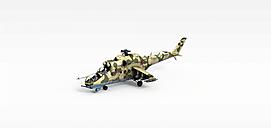 3d军用<font class='myIsRed'>飞机</font>模型