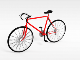 高赛<font class='myIsRed'>自行车</font>3d模型