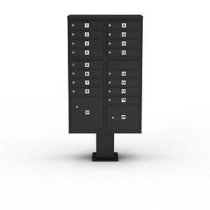 信報箱模型3d模型