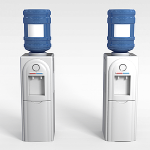 3d自动饮水机模型