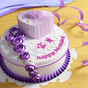3d奶油生日<font class='myIsRed'>蛋糕</font>模型