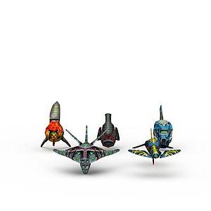 3d飛行器模型模型