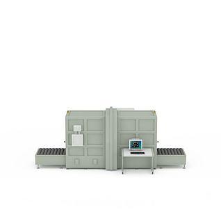 X光安检机3d模型