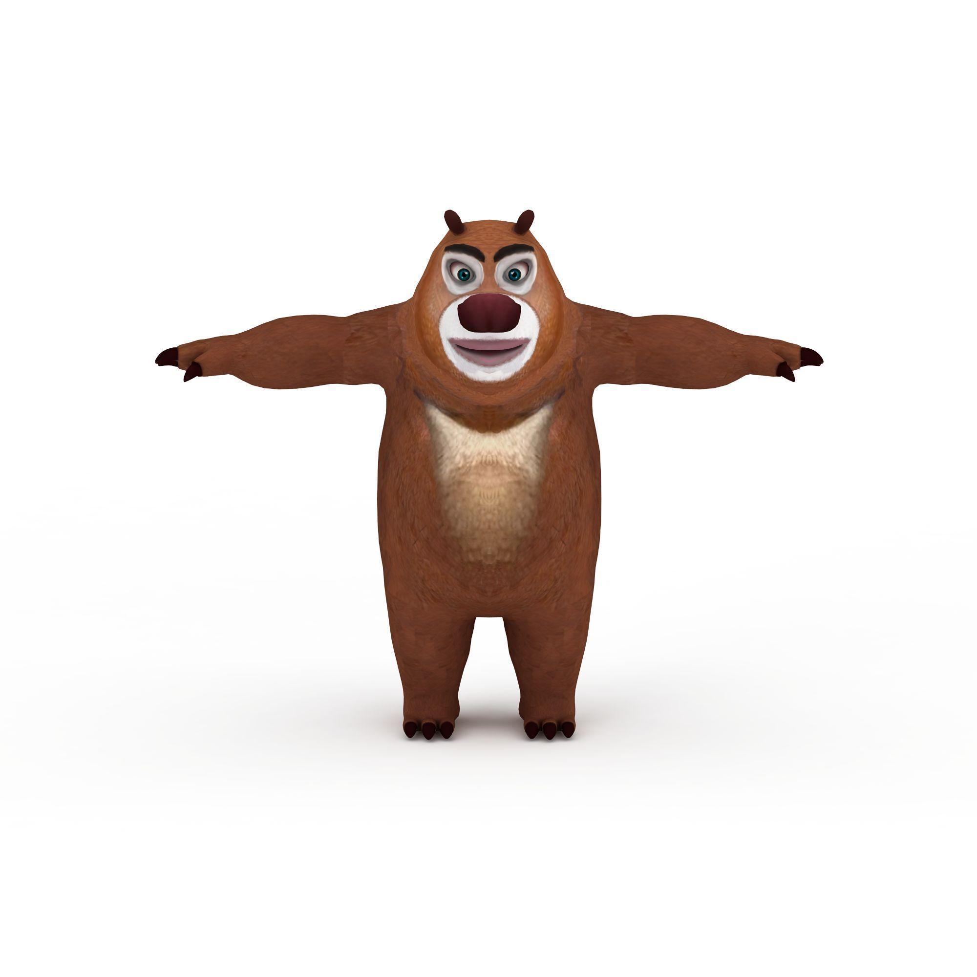 熊二的画法步骤