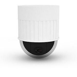3d高清监控摄像头模型