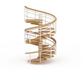 木制<font class='myIsRed'>旋转楼梯</font>3d模型