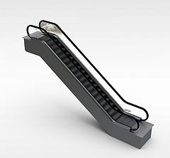 商场扶梯模型3d模型