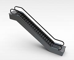 长扶梯模型3d模型