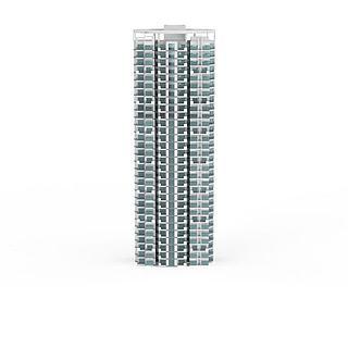 现代简约建筑3d模型