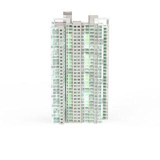 现代商厦建筑3d模型