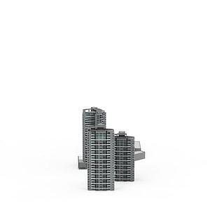 <font class='myIsRed'>现代建筑</font>大厦3d模型