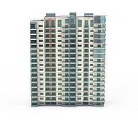 现代简约建筑3D模型3d模型