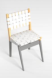 简约编织椅子3d模型