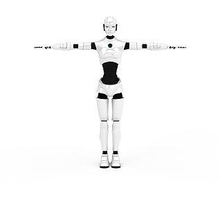 移动机器人3d模型