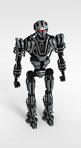3d遥控<font class='myIsRed'>机器人</font>模型