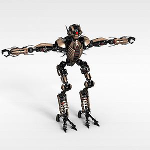 3d蚂蚁<font class='myIsRed'>机器人</font>模型