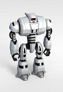 3d<font class='myIsRed'>智能机器人</font>模型