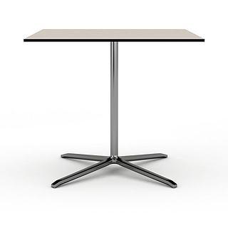 公司办公桌3d模型